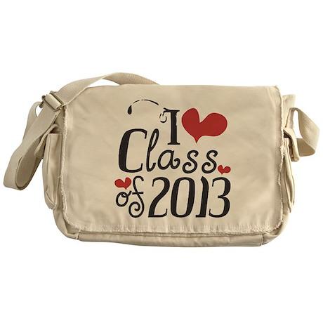 I heart Class of 2013 Messenger Bag