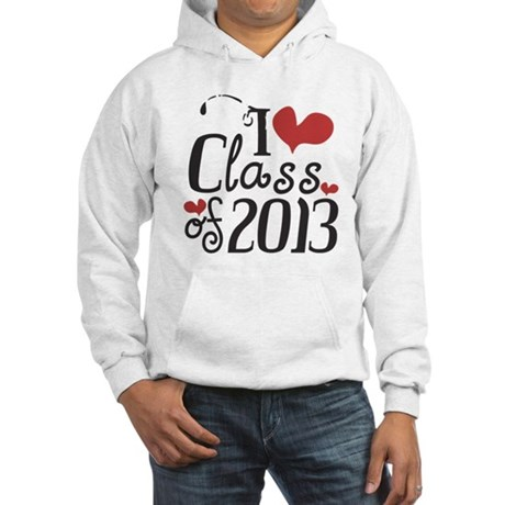 I heart Class of 2013 Hooded Sweatshirt