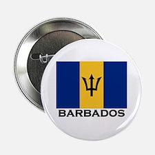 Barbados Flag Stuff Button