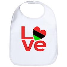 African American Love Bib