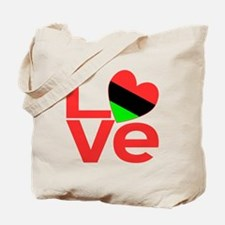 African American Love Tote Bag