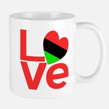 African American Love Mug