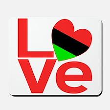 African American Love Mousepad