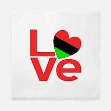 African American Love Queen Duvet