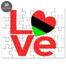 African American Love Puzzle