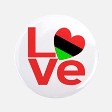 """African American LOVE 3.5"""" Button"""
