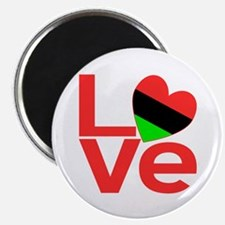 African American LOVE Magnet