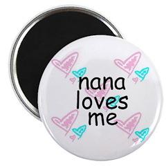 nana loves me Magnet