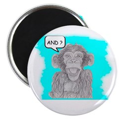 AND? MONKEY Magnet
