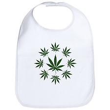 Marijuana go round Bib