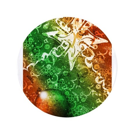 """Winter Revelry 3.5"""" Button (100 pack)"""