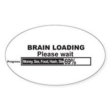Brain Loading Decal