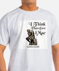 The Geek God's Ash Grey T-Shirt