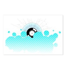 Record Clouds Postcards (Package of 8)