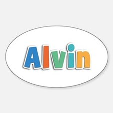 Alvin Spring11B Oval Decal