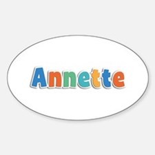 Annette Spring11B Oval Decal