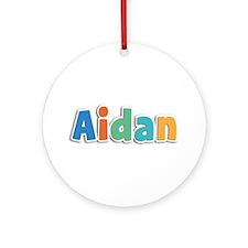 Aidan Spring11B Round Ornament