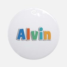 Alvin Spring11B Round Ornament