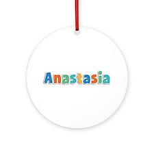 Anastasia Spring11B Round Ornament