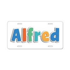 Alfred Spring11B Aluminum License Plate
