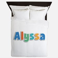 Alyssa Spring11B Queen Duvet