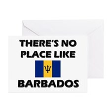 There Is No Place Like Barbados Greeting Cards (Pa