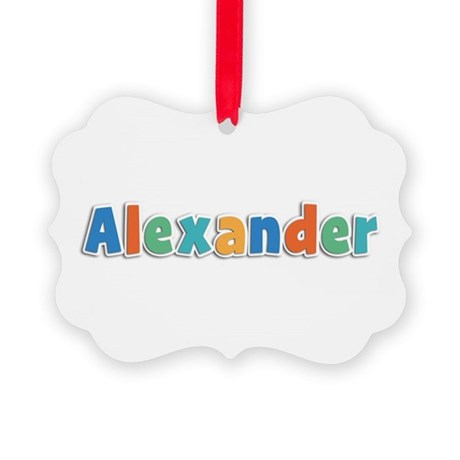 Alexander Spring11B Picture Ornament