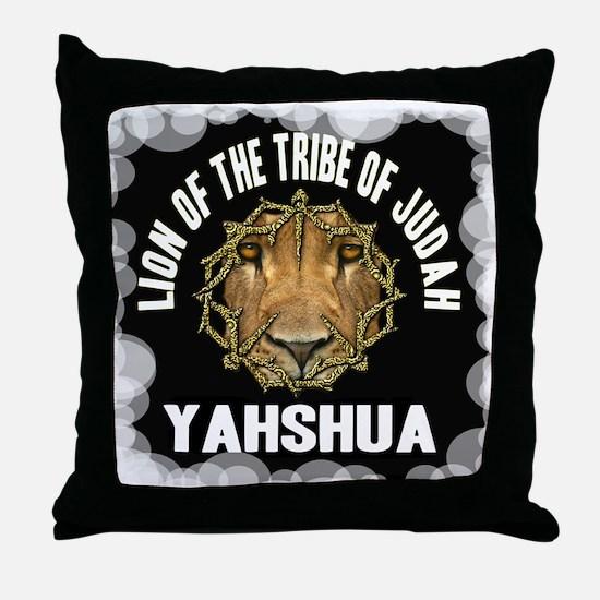Yahshua Lion Throw Pillow