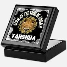 Yahshua Lion Keepsake Box