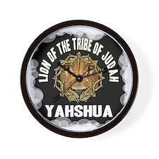 Yahshua Lion Wall Clock