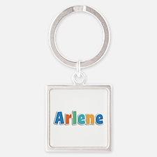 Arlene Spring11B Square Keychain