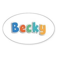 Becky Spring11B Oval Decal
