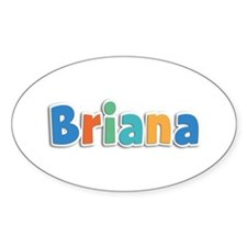 Briana Spring11B Oval Decal