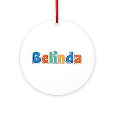 Belinda Spring11B Round Ornament