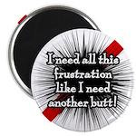 """Banded Frustration 2.25"""" Magnet (100 pack)"""