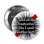 "Banded Frustration 2.25"" Button (100 pack)"