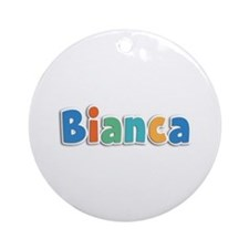 Bianca Spring11B Round Ornament