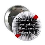 "Banded Frustration 2.25"" Button"