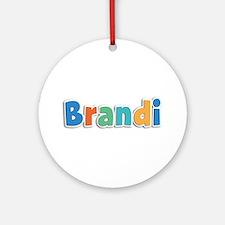 Brandi Spring11B Round Ornament