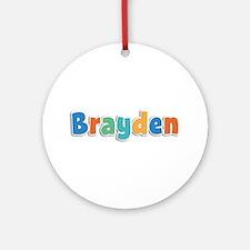 Brayden Spring11B Round Ornament