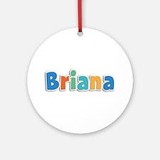 Briana Spring11B Round Ornament