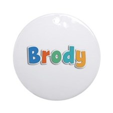 Brody Spring11B Round Ornament