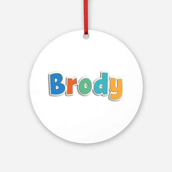 Brody Spring11B Round Ornament