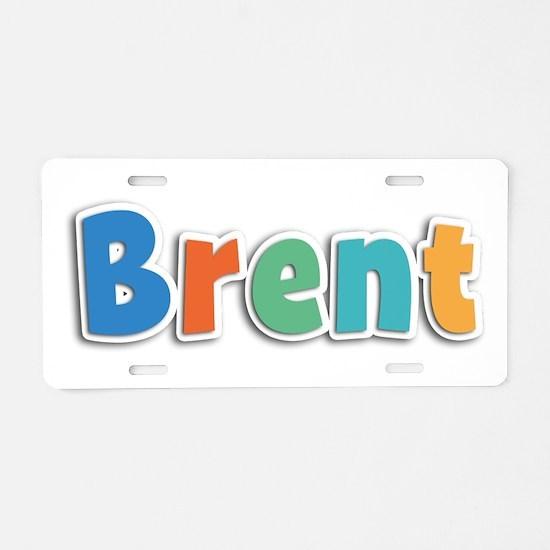 Brent Spring11B Aluminum License Plate