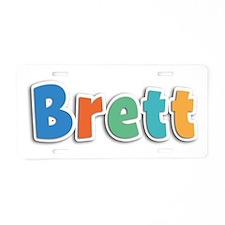 Brett Spring11B Aluminum License Plate