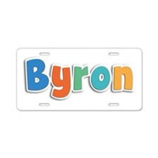 Byron Spring11B Aluminum License Plate