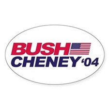 Bush/Cheney Oval Decal