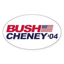 Bush/Cheney Oval Decal