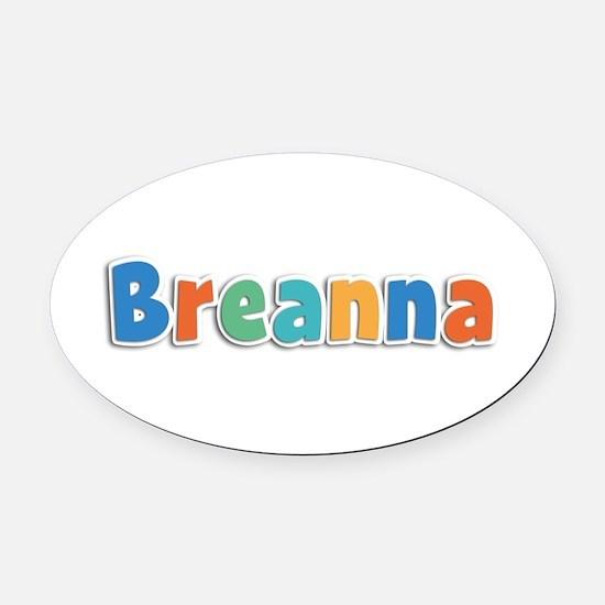 Breanna Spring11B Oval Car Magnet