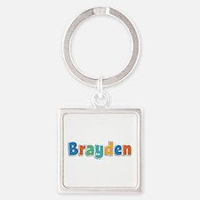 Brayden Spring11B Square Keychain